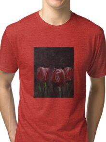 Saucy Tulips Tri-blend T-Shirt