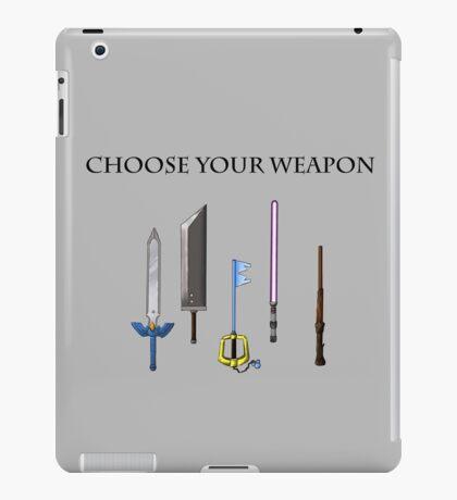 Choose Wisely iPad Case/Skin