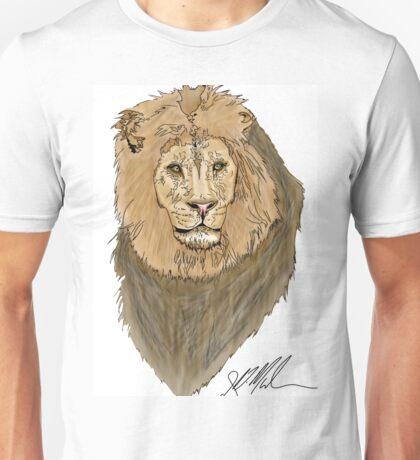 Lion Digital Painting Unisex T-Shirt
