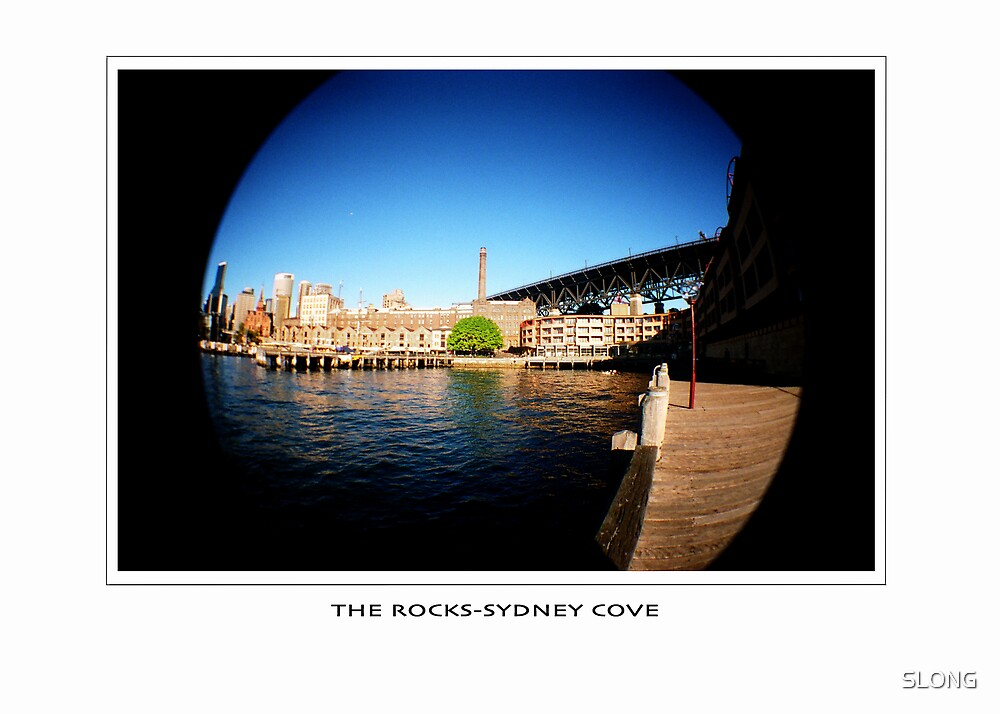 the rocks sydney cove by SLONG