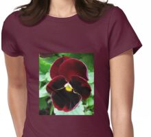 Crimson Velvet - Picture and Poem Womens Fitted T-Shirt