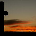 Sunset Cross by kimwild