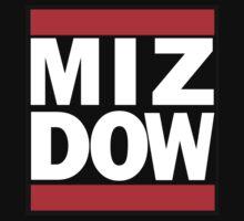 Damien Mizdow T-shirt by rendowgird