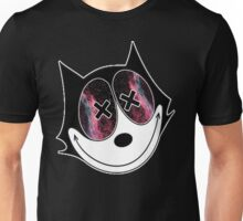 Felix the spacedout cat Unisex T-Shirt