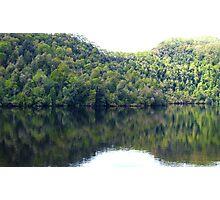 On the Gordon River. International Wilderness Area. south west Tasmania Photographic Print