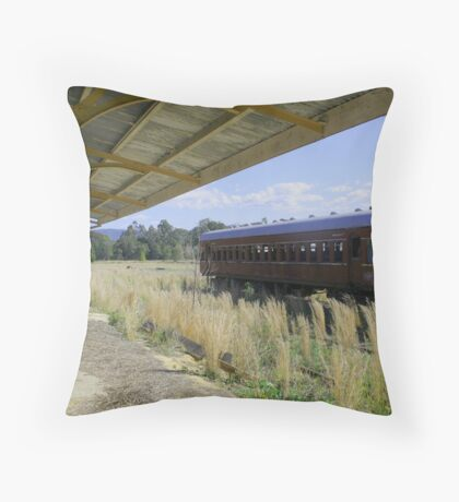 The Last Train To Glenreagh Throw Pillow