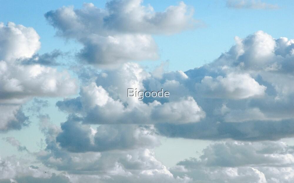 Sleeping clouds  by Bigoode