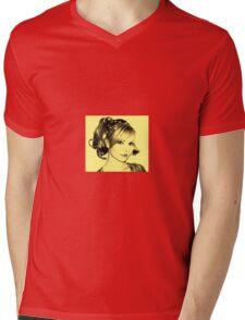 Vintage Dee Mens V-Neck T-Shirt