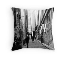 Hosier Lane, Melbourne Throw Pillow