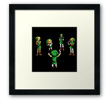Orchestra of Time Framed Print