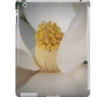 Magnolia macro iPad Case/Skin