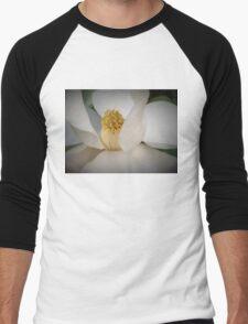 Magnolia macro Men's Baseball ¾ T-Shirt