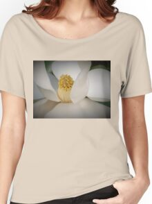 Magnolia macro Women's Relaxed Fit T-Shirt