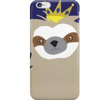 Royal Sloth iPhone Case/Skin