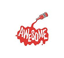 Awesome Sauce Strong Bad Boom Boom Photographic Print