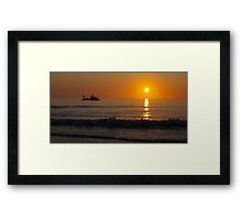 A South Australian Sunset Framed Print