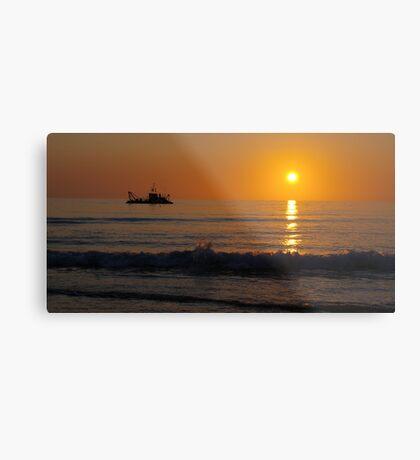 A South Australian Sunset Metal Print