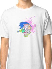 Gross 'N Gruesome Monster Face Classic T-Shirt