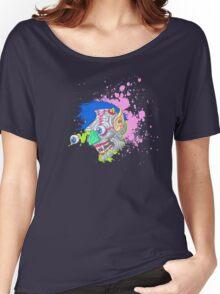 Gross 'N Gruesome Monster Face Women's Relaxed Fit T-Shirt
