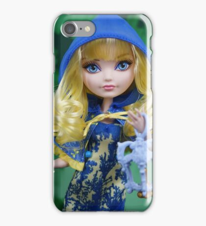 Through The Wood - Blondie Lockes iPhone Case/Skin