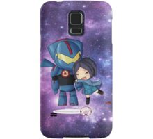 Pacific Rim- Mako Mori and Gipsy Danger Chibi by KlockworkKat Samsung Galaxy Case/Skin