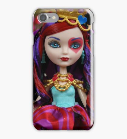 Way Too Wonderland - Lizzie Hearts iPhone Case/Skin