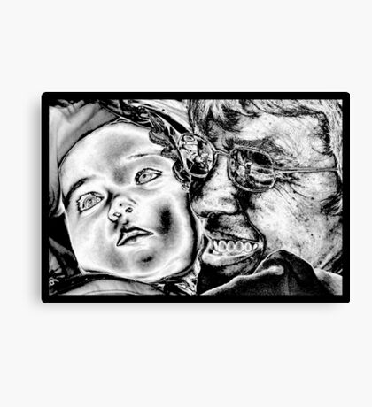A Grandma`s Love Canvas Print