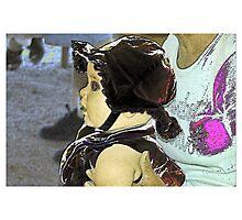 Hot Wax Infant Photographic Print