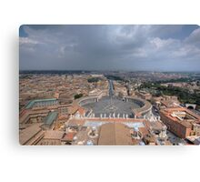 The Vatican City - Rome Canvas Print