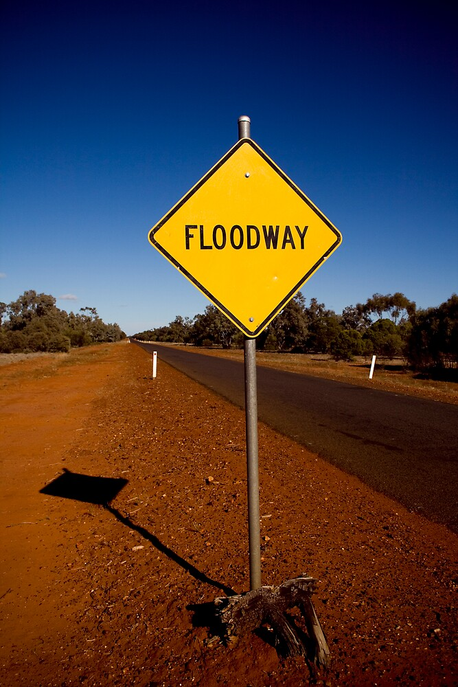 Floodway, no way!  by squared