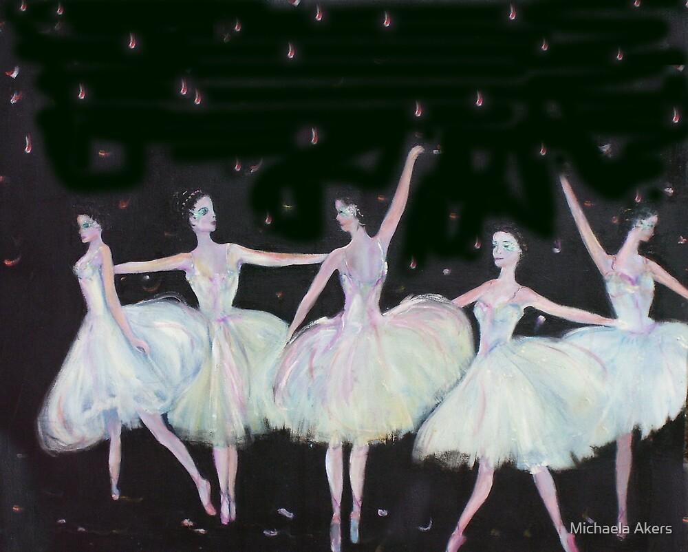 Ballet in Blue by Michaela Akers