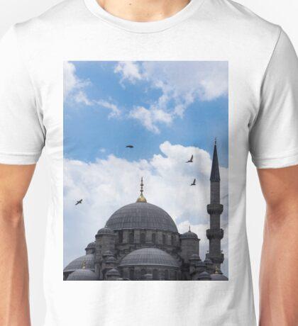 The Blue Mosque Minarets Unisex T-Shirt
