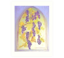 Arbor Grapes Art Print