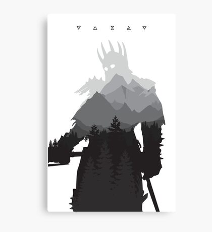 The Witcher 3 - Eredin (Signs) Canvas Print