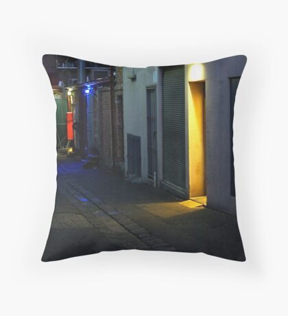 say you've nicked off for a smoko... Throw Pillow