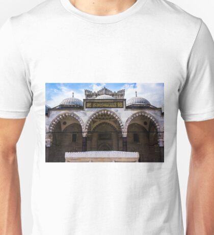 The Courtyard Of Suleymaniye Unisex T-Shirt