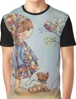 The Patchwork Tree Graphic T-Shirt
