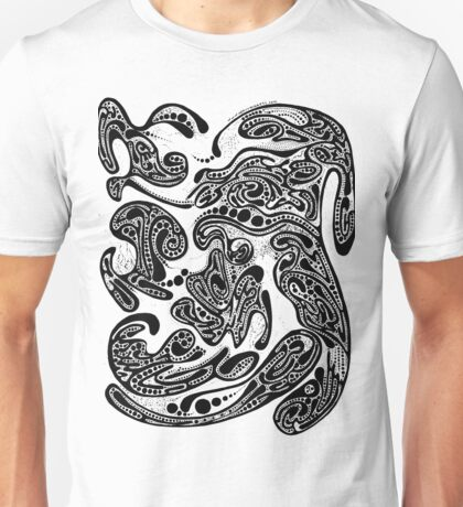 Abstract Ink No. 3 Unisex T-Shirt