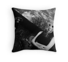 together till the end? Throw Pillow
