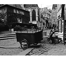 the cart Photographic Print