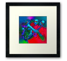 Singin' Da Blues Framed Print