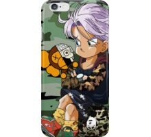 HMN ALNS DBZ TRUNKS iPhone Case/Skin