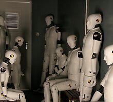 Waiting crash test dummies by kimwild