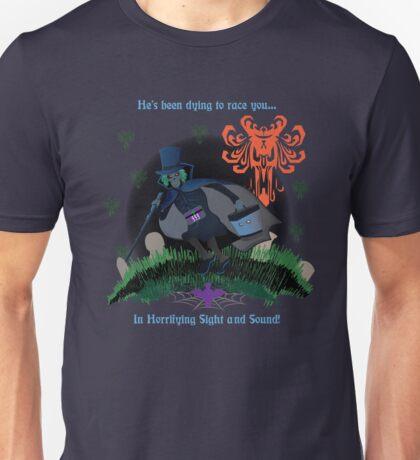 Run Hatty Poster Unisex T-Shirt