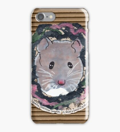 The Field Mouse iPhone Case/Skin
