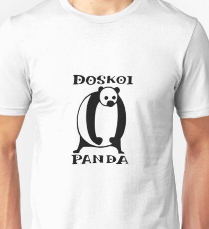 Doskoi Panda Unisex T-Shirt