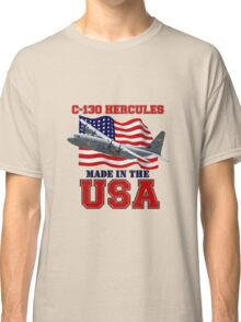 C-130 Hercules Made in the USA Classic T-Shirt