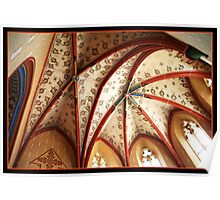 Ribbed Vault Poster