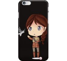 Katniss Everdeen Chibi by KlockworkKat iPhone Case/Skin