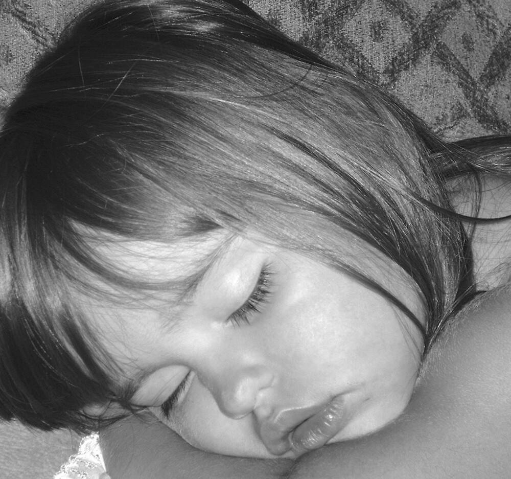 Sleeping Angel by peggyprescott